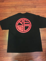Classic Logo Tee - Black & Red