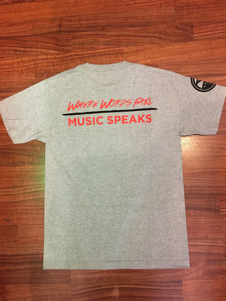 Music Speaks - Red Label Clothing Inc