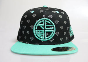 Mint Diamond Snapback