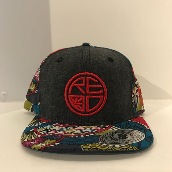 Japanese Fan Snapback - Red Label Clothing Inc