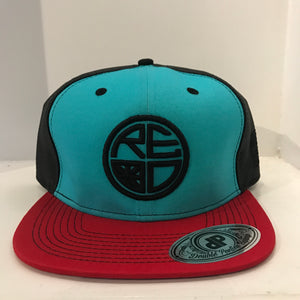 Tri-Color Mesh Trucker Hat
