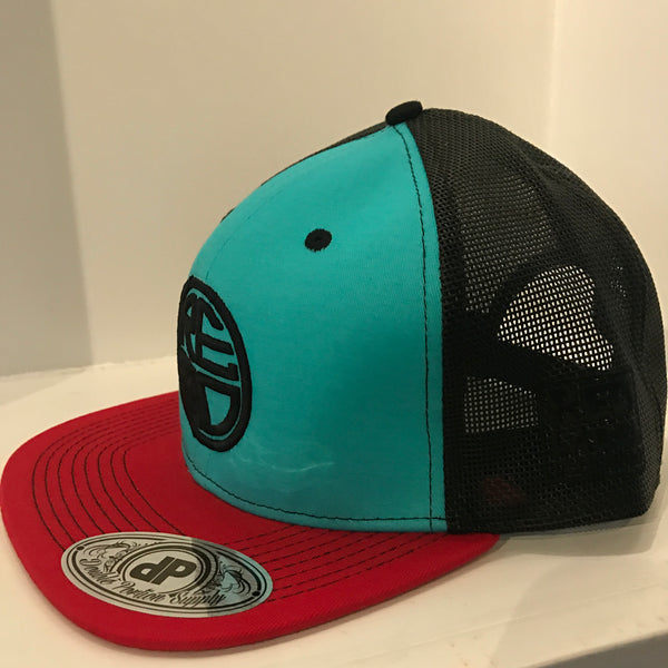 Tri-Color Mesh Trucker