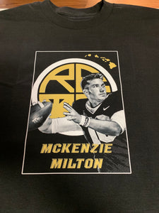 McKenzie Milton Men's T-Shirt - Black