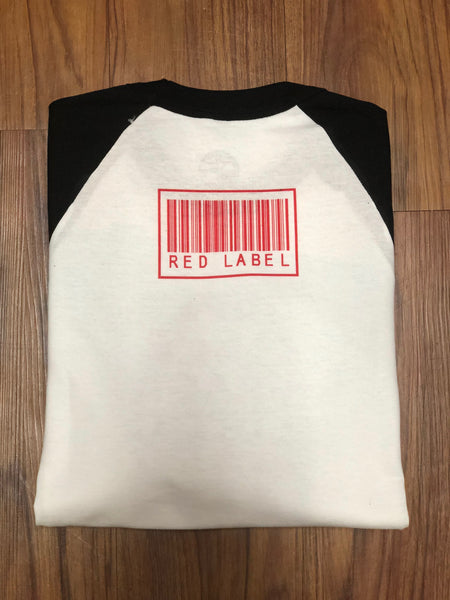 """Super Cal"" Men's Raglan - Red Label Clothing Inc"