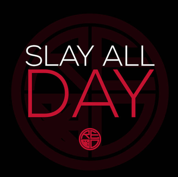 Slay All Day Racerback