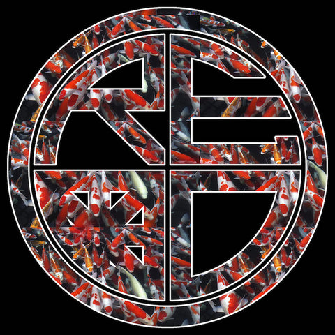 Koi Outlined T-Shirt