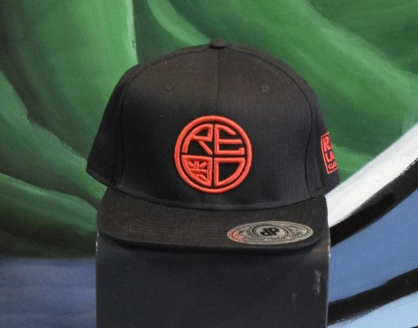 Classic Logo Fitted Hat - Red Label Clothing Inc