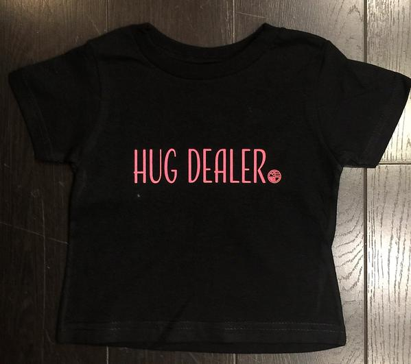 """Hug Dealer"" Toddler T-Shirt - Red Label Clothing Inc"