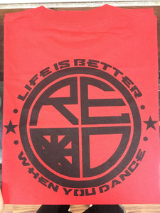 """Life Is Better When You Dance"" Men's Tee - Red Label Clothing Inc"