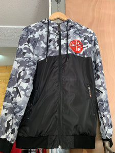 Men's Camo Windbreaker