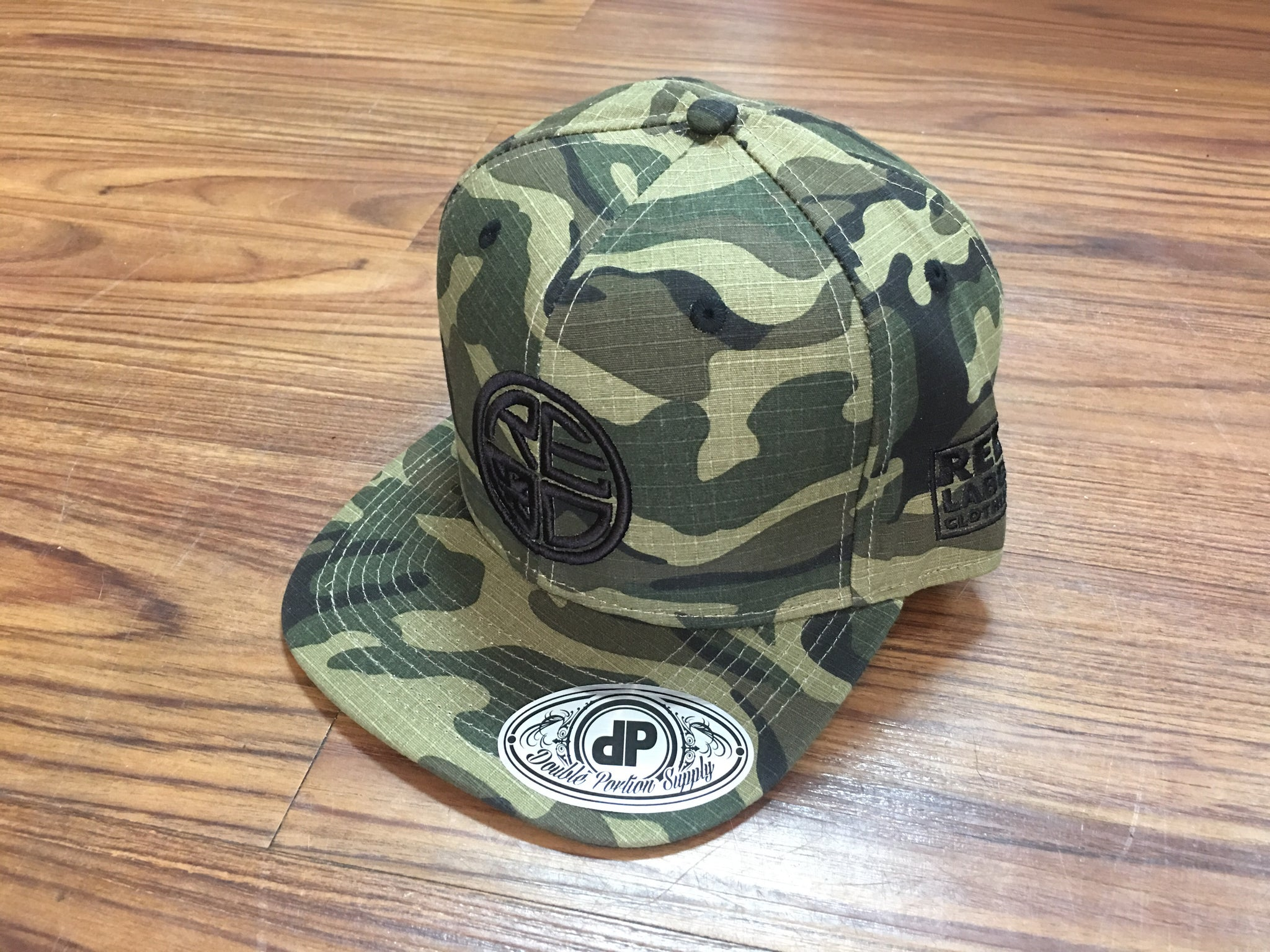 BDU Camo Snapback - Red Label Clothing Inc