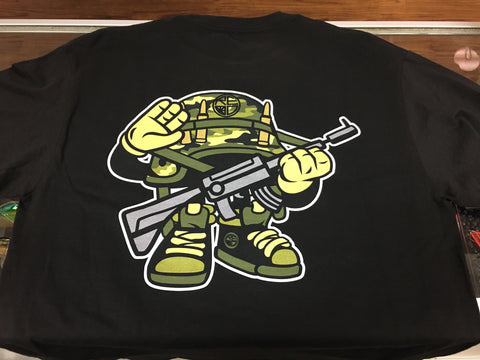 Camo Soldier Long Sleeve