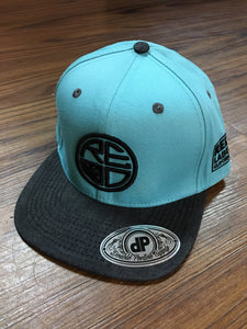 Mint & Denim Snapback - Red Label Clothing Inc