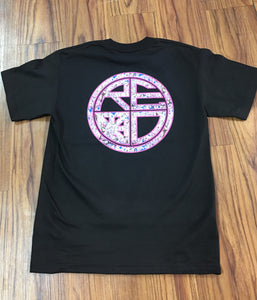 """Cherry Blossom"" Classic Logo Men's Tee - Red Label Clothing Inc"