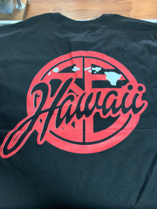 Hawaii Classic Logo Men's T-Shirt - Black