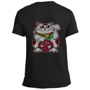 Lucky Neko Mens Tee - Red Label Clothing Inc