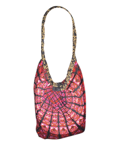 Mandala Banana Shoulder Bag