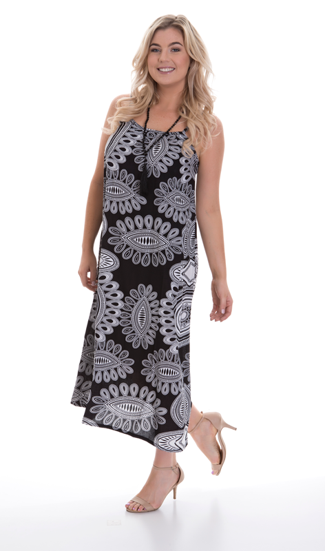 Alannah Long Dress