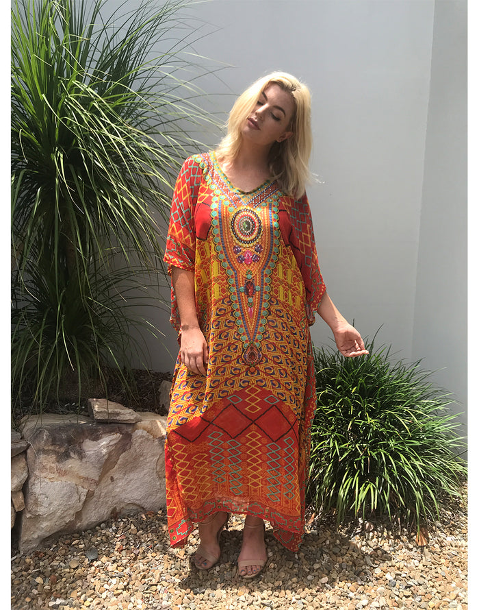 Lara Long Kaftan