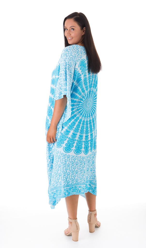 Long Mandala Kaftan