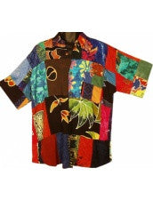 Men's Patchwork Shirt