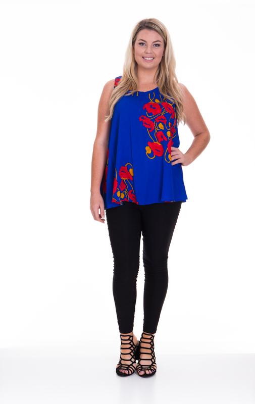 Poppy Sleeveless Top