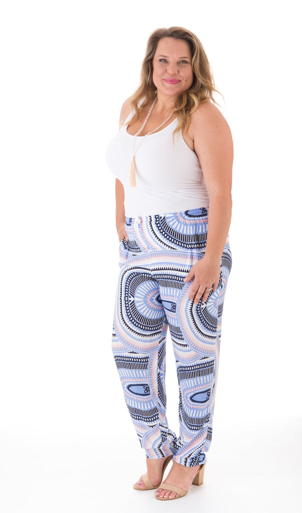 Happy Pants - Circle Print