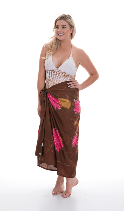 Luxury Paravoile Sarong  - Cocobolo