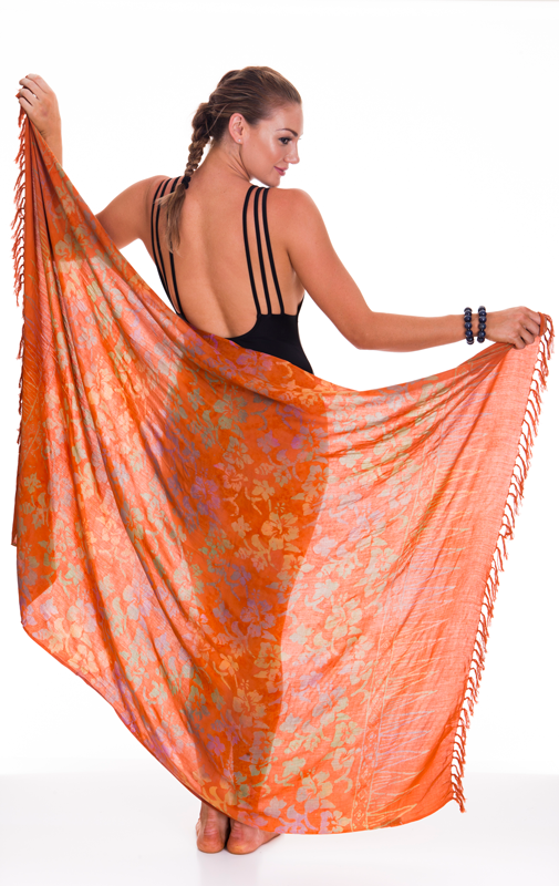 Sarongs - Hibiscus Colours