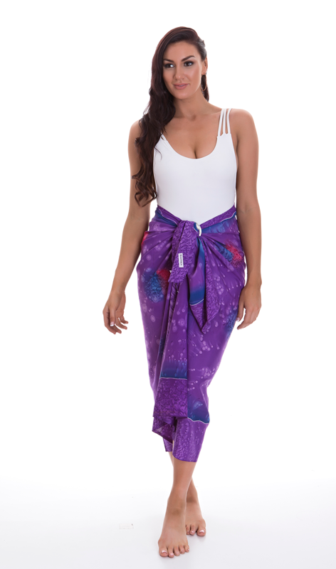 Luxury Paravoile Sarong - Mars