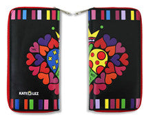 The Kati Lez Collection - Wallet 'Pattern Hearts'
