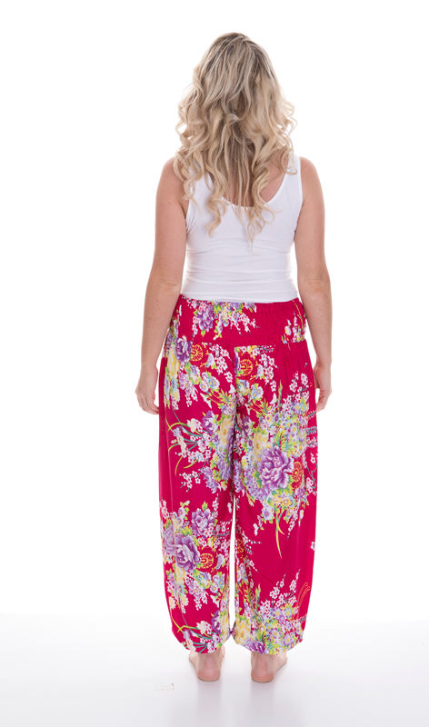 Long Pants 'Flower Print'