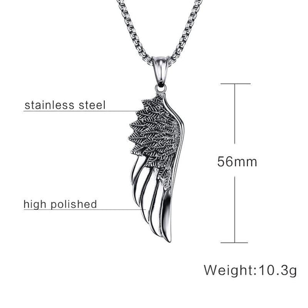 Volo Stainless Steel Necklace- Silver - Posh Men Club