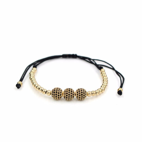 Jackson Bracelet-Gold - Posh Men Club