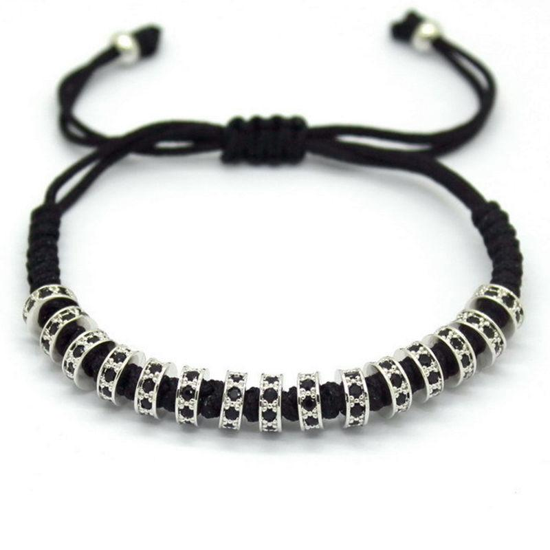 Empire Men Bracelet -Silver - Posh Men Club