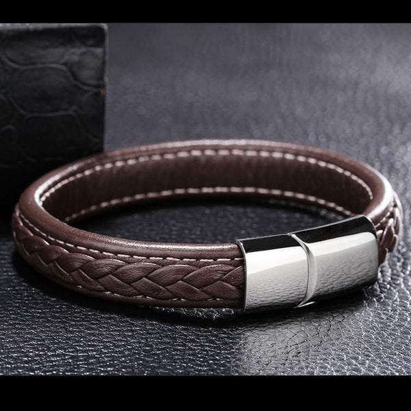 Posh Elegant Bracelet-Brown - Posh Men Club