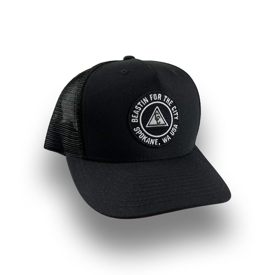 BFTC SPOKANE TRUCKER - BLACK