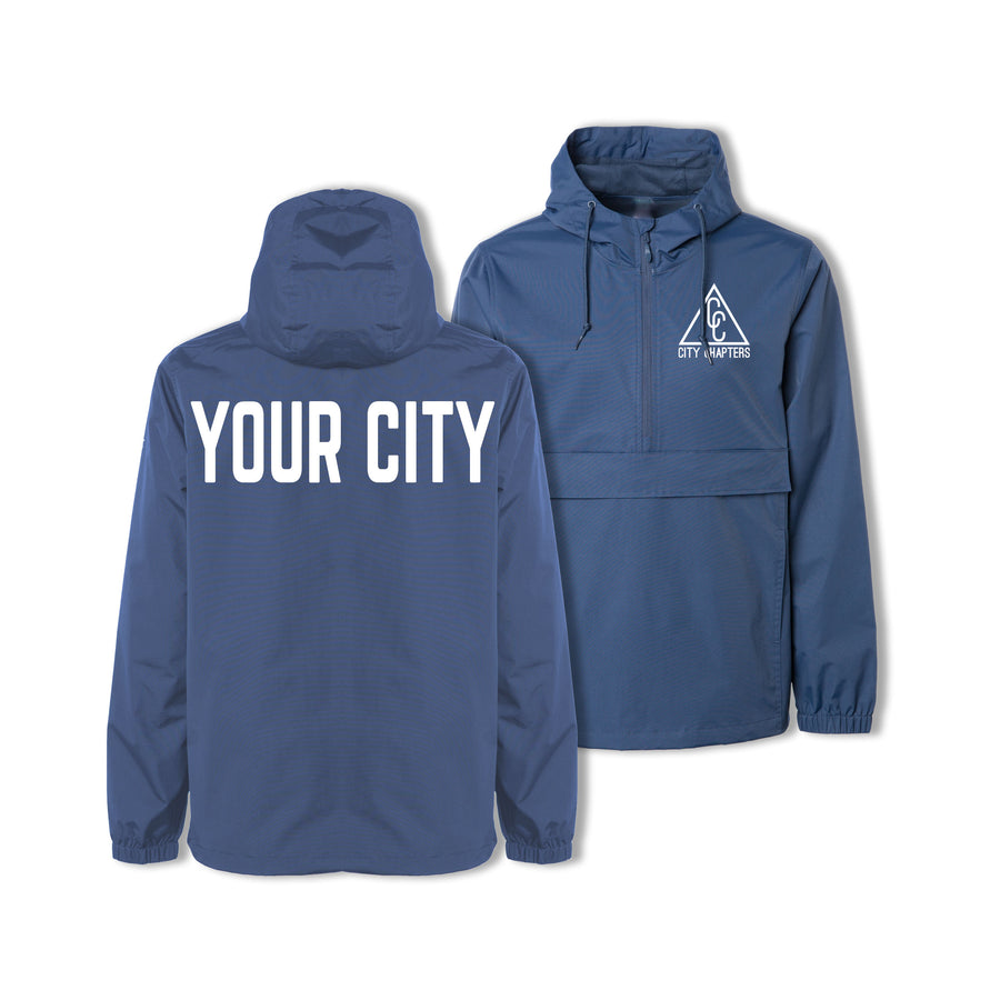 SIGNATURE CITY ANORAK - NAVY