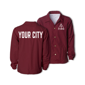 SIGNATURE CITY JACKET - CARDINAL