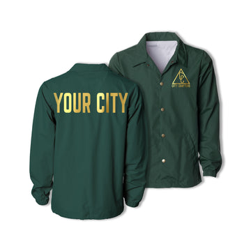 SIGNATURE CITY JACKET - FOREST
