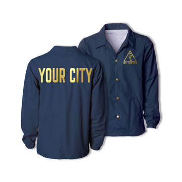 SIGNATURE CITY JACKET - NAVY