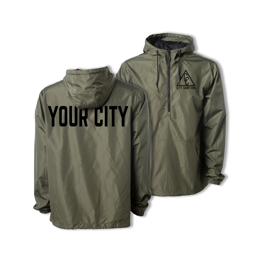 ULTRALIGHT CITY ANORAK - ARMY