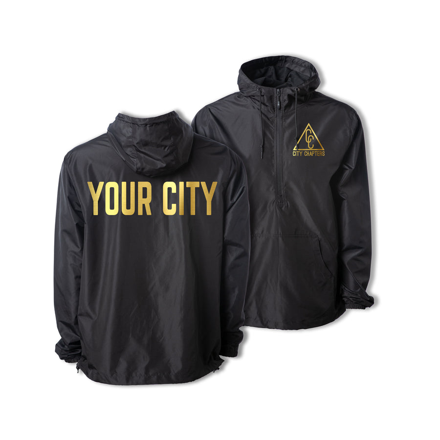 ULTRALIGHT CITY ANORAK - BLACK