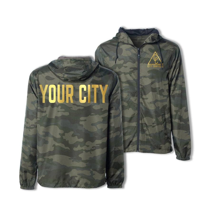 ULTRALIGHT CITY JACKET - CAMO