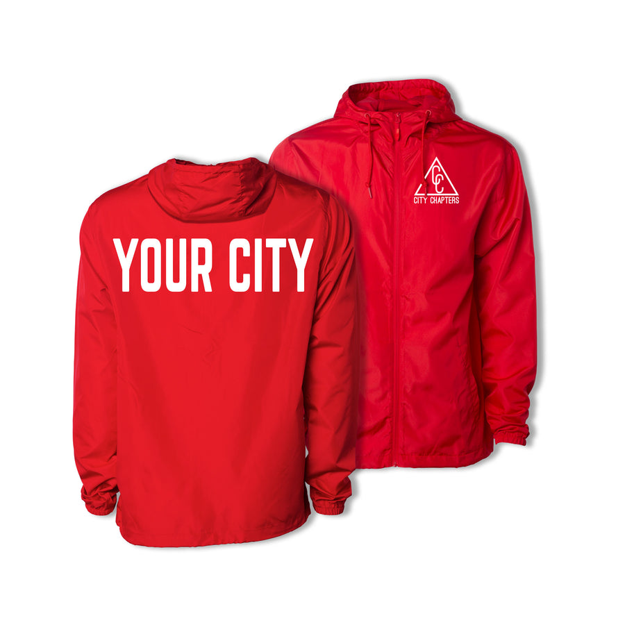 ULTRALIGHT CITY JACKET - RED