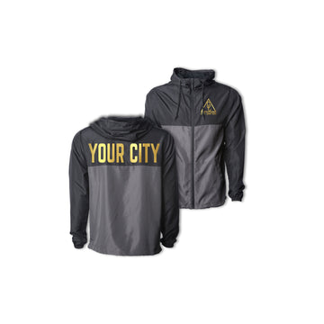 YOUTH ULTRALIGHT CITY JACKET - BLACK/GRAPHITE