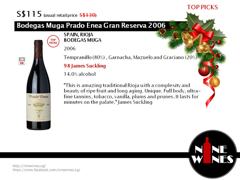 Celebrate the festive season by impressing your loved ones with these great wines!