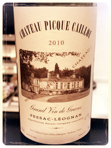 New bad boy in our store - Chateau Picque Caillou 2010