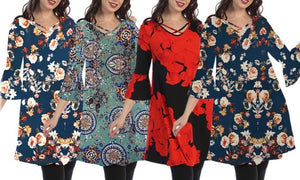 Tunic Dresses Plus