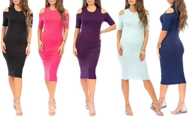 Calf Length Dresses